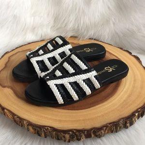 Yosi Samra Shoes - Yosi Samra leather slide sandals